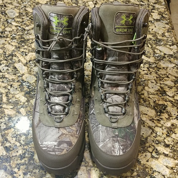 uk availability 5668c 770ca Under Armour Shoes | Brow Tine 800g Hunting Boots | Poshmark